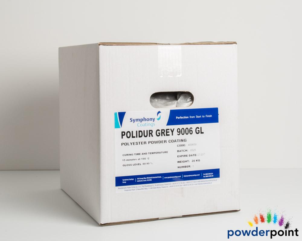 Ral 9006 gloss white aluminium polyester powder for Fenetre ral 9006