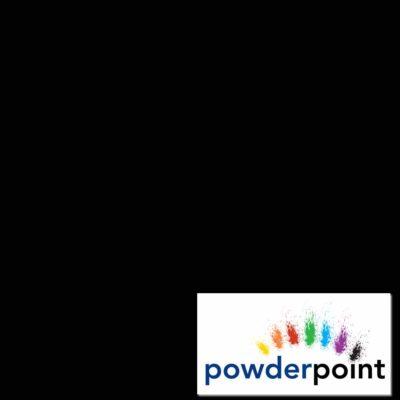 Black BS00E53 Semi Gloss 60% Epoxy Polyester Texture Powder Coating 20kg