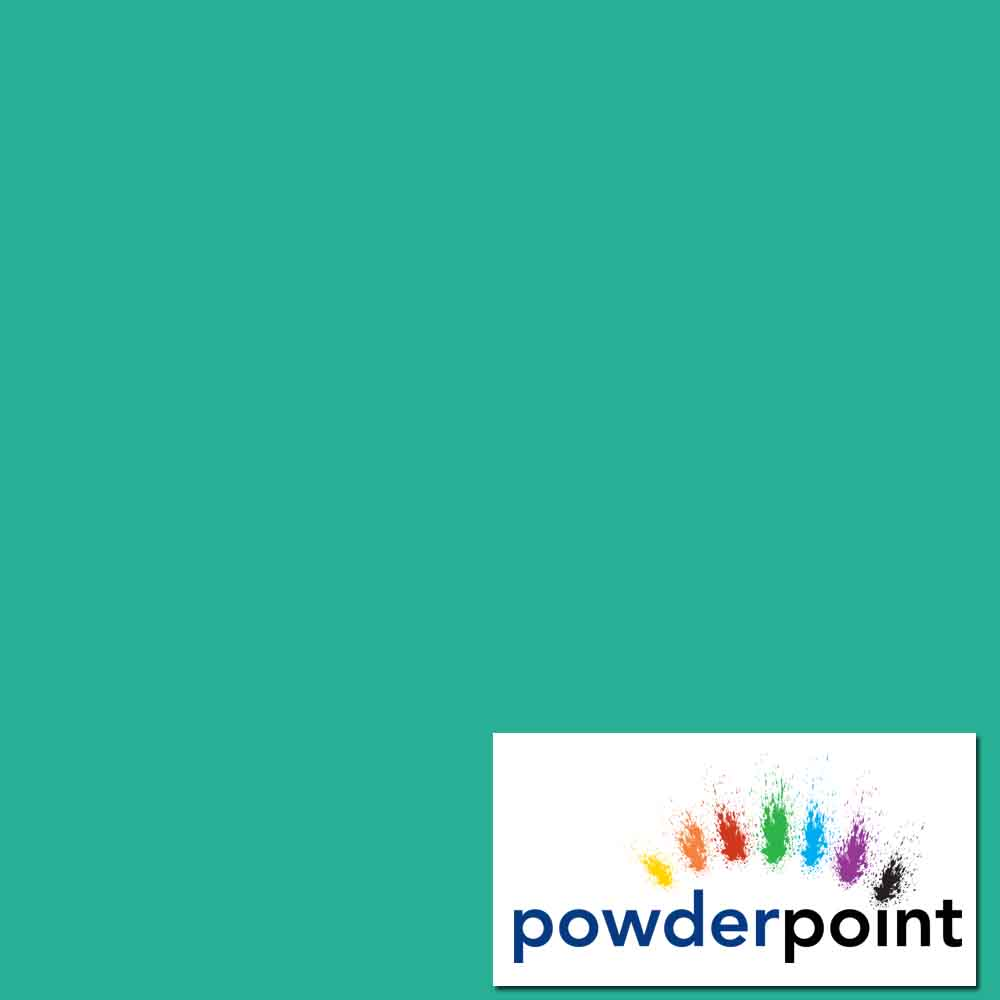 Turquoise Blue RAL 5018 Gloss 90% Polyester Powder Coating
